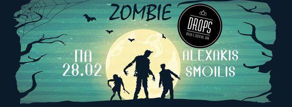 Zombie night at Drops