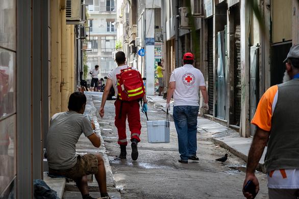 Ο Ελληνικός Ερυθρός Σταυρός στη μάχη κατά του κορωνοϊού (φωτο)