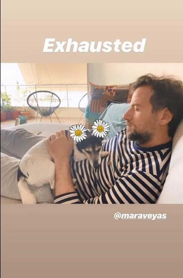 Η Τόνια Σωτηροπούλου φωτογραφίζει τον Κωστή Μαραβέγια! (φωτο)