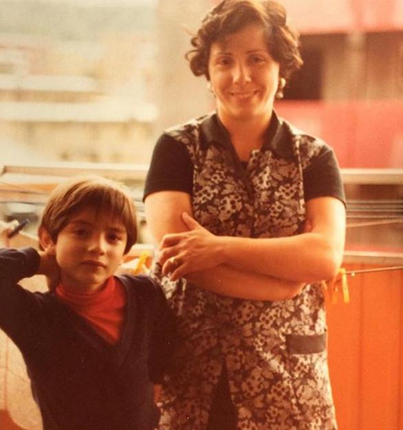 Η Αλεξάνδρα Πασχαλίδου όταν ήταν μικρό κορίτσι