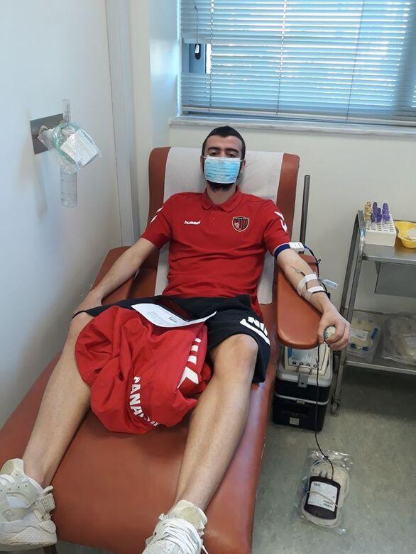 """Πάτρα: Εθελοντική αιμοδοσία από τους """"κοκκινόμαυρους"""" (φωτο)"""