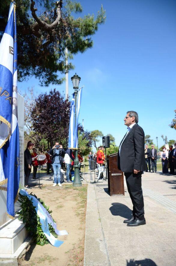 Ο Δήμος Πατρέων τίμησε τη μνήμη των 11 απαγχονισθέντων αγωνιστών της Εθνικής Αντίστασης