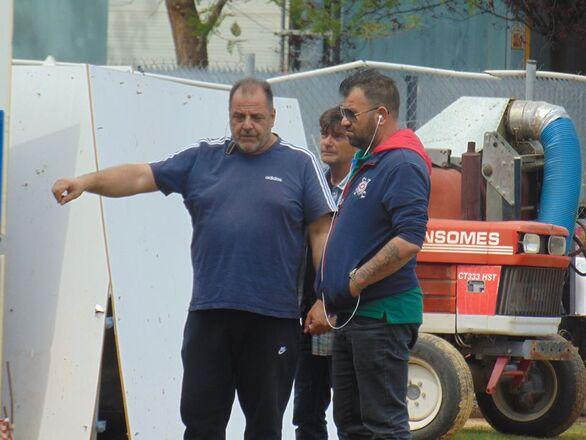 Πάτρα - Συνεχίζονται οι εργασίες στο προπονητικό κέντρο στην Οβρυά (φωτο)