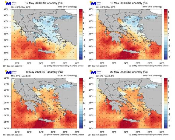 Καύσωνας στις ελληνικές θάλασσες - Πώς προκαλείται το φαινόμενο