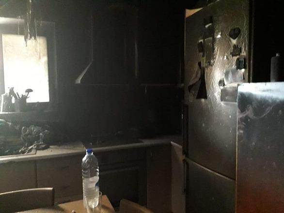 Βραχυκύκλωμα κατέστρεψε σπίτι στο Μπεγουλάκι (φωτο)