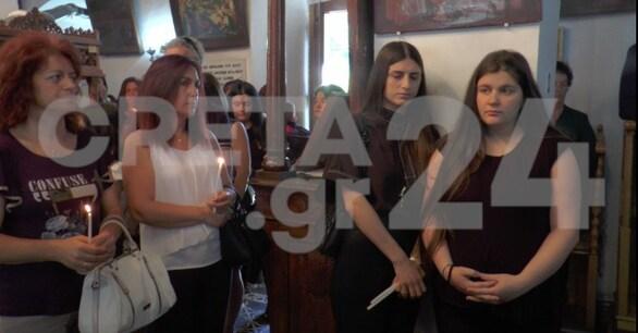 Ράγισαν καρδιές στο μνημόσυνο του Λευτέρη Καλομοίρη (φωτο)