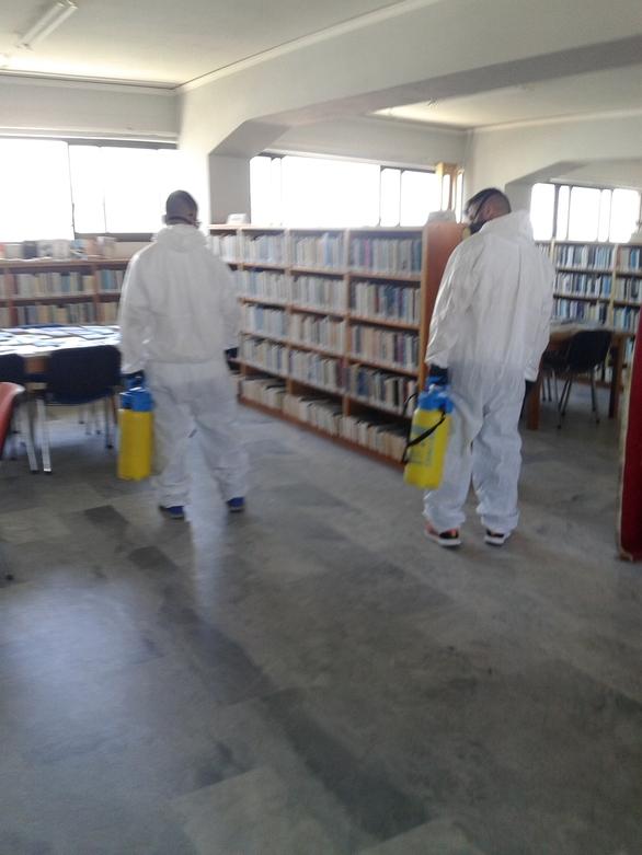 Σε μερική επαναλειτουργία η Δημοτική Βιβλιοθήκη Πατρών (φωτο)