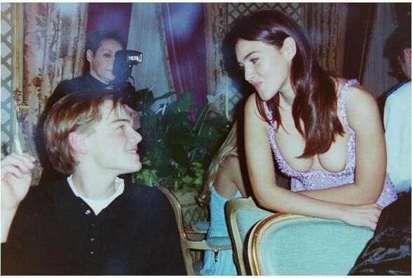Όταν η Μόνικα Μπελούτσι συνάντησε τον Λεονάρντο Ντι Κάπριο