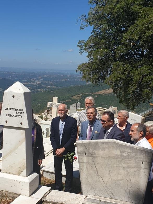 Αχαΐα: Πραγματοποιήθηκε η εκδήλωση για τα 24 χρόνια από το θάνατο του Ανδρέα Παπανδρέου (φωτο)