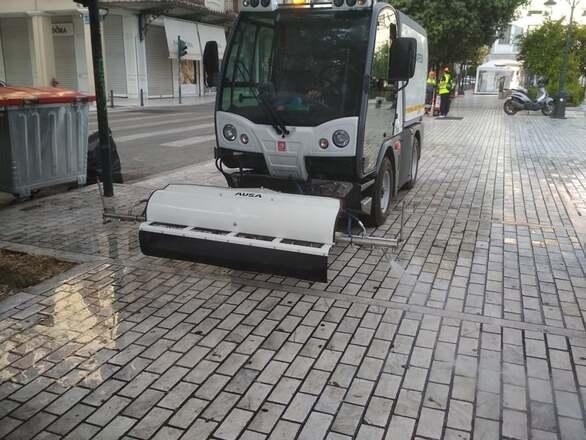 Πάτρα: Δύο νέα πλυντικά οχήματα καθαριότητας στο στόλο του δήμου