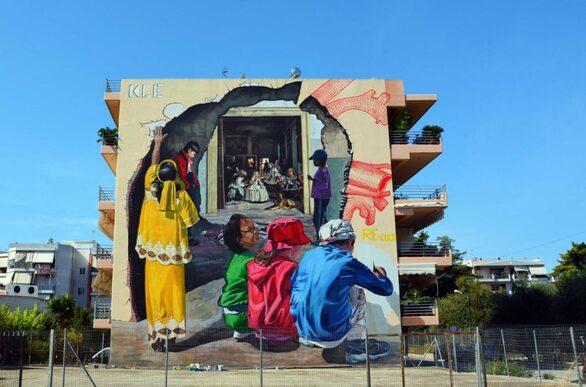 Αποκαλύπτεται σύντομα η 1η τοιχογραφία του 5ου Διεθνούς Street Festival Πάτρας