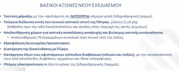 """Καραμανλής από Πάτρα: """"Το ταξίδι από την Αθήνα ως το νέο λιμάνι θα διαρκεί 1 ώρα και 40 λεπτά"""" (video)"""