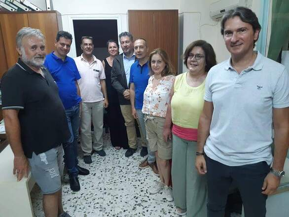 Επίσκεψη αντιπροσωπείας του σπιράλ στο Ακταίο