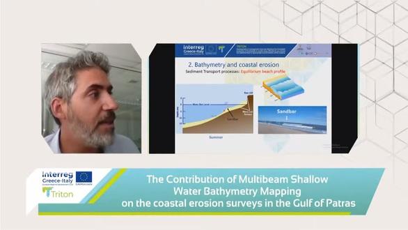 Δυτ. Ελλάδα: Το φαινόμενο της διάβρωσης των ακτών μέσα από τα αποτελέσματα του Ευρωπαϊκού Έργου «TRITON» (video)