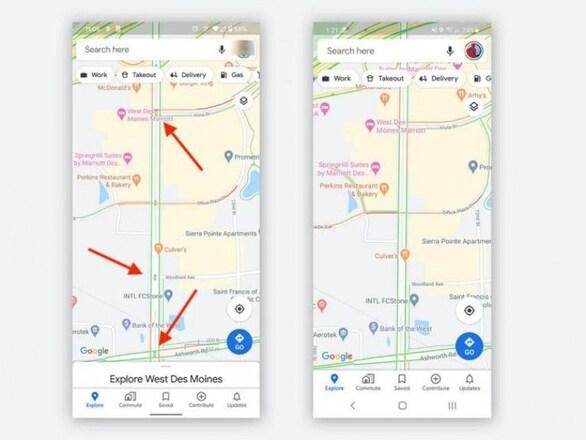Νέο χαρακτηριστικό στο Google Maps (φωτο)