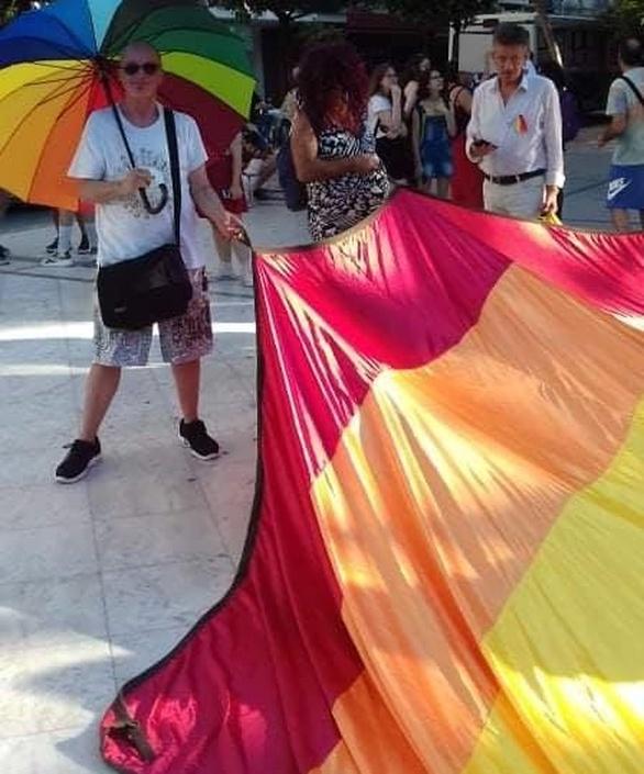 5ο Patras Pride - Η σημαία του ουράνιου τόξου κυμάτισε και φέτος στην πολύχρωμη πορεία (φωτο)