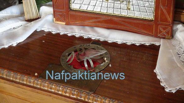 Ναύπακτος: Ιερόσυλοι έκλεψαν το λείψανο του Αγίου Νεκταρίου (video)