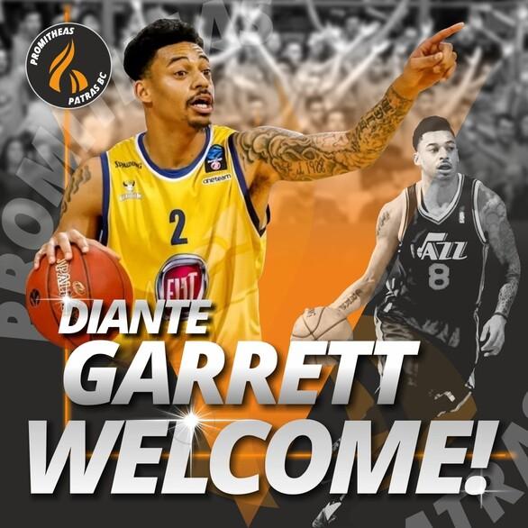 Πάτρα: O Προμηθέας καλωσορίζει τον Diante Garrett