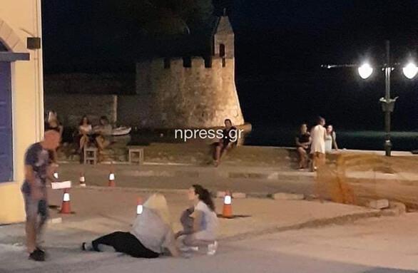 Δυτική Ελλάδα: Ατύχημα σε ανοιχτό εργοτάξιο στο λιμάνι της Ναυπάκτου (φωτο)