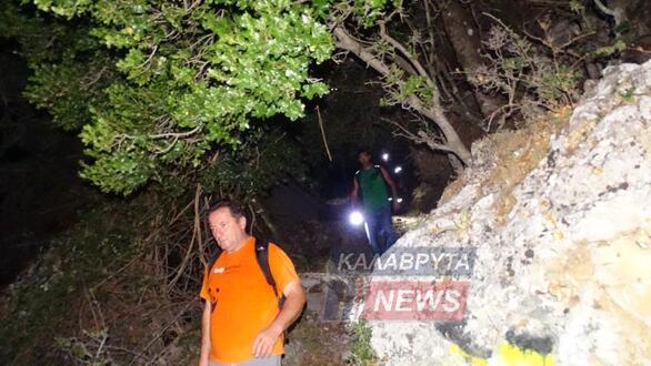 Καλάβρυτα: 17χρονος εγκλωβίστηκε στο βουνό - Πολύωρη επιχείρηση εντοπισμού του (φωτο)