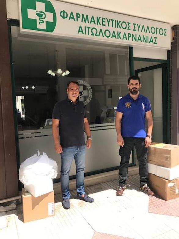 Αποστολή βοήθειας στη Βηρυτό από τους Φαρμακοποιούς της Αιτωλοακαρνανίας