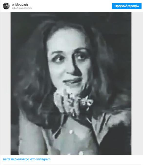 Η Έλλη Λαμπέτη σε μία από τις πιο συγκλονιστικές στιγμές της καριέρας της (φωτο)