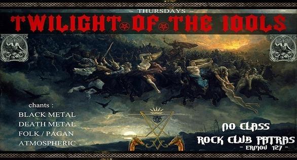 Twilight Of The Idols at No Class - Rock Club Patras