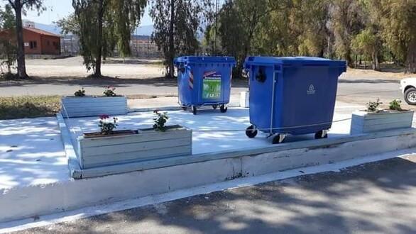 Αιγιάλεια: Δημιουργήθηκαν 41 πράσινα σημεία και γωνίες ανακύκλωσης (φωτο)