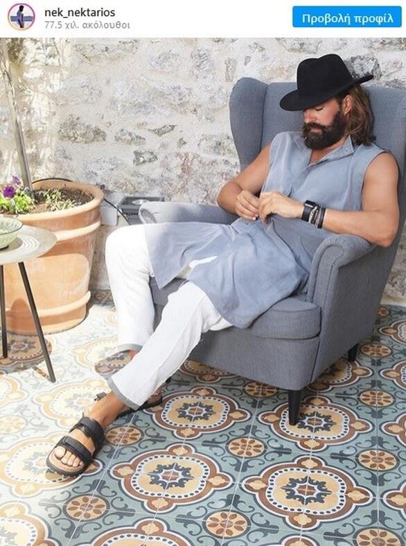 Νεκτάριος Κυρκόπουλος - Ο διεθνής Έλληνας μοντέλο υποφέρει από υπνοπαράλυση