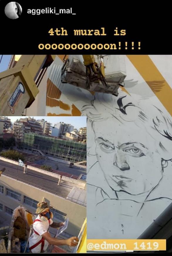 Ο Ludwig van Beethoven, βρίσκει τη... θέση του στην Πάτρα! (φωτο)