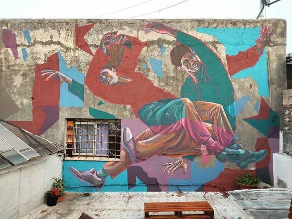 Το ArtWalk, ξεκινάει την 5η τοιχογραφία στην Πάτρα!