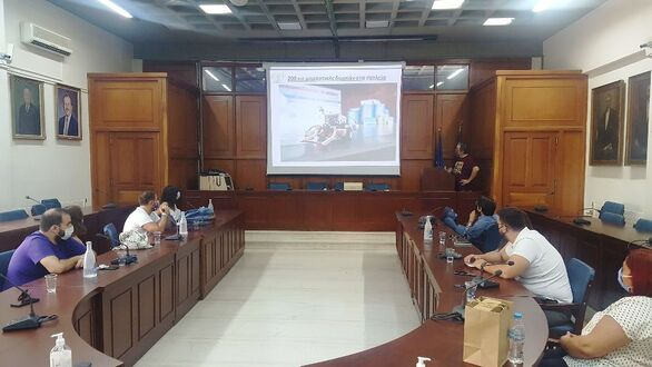 Στο Δήμο Τρικκαίων εκπρόσωποι νεοφυών επιχειρήσεων από την Πάτρα (φωτο)