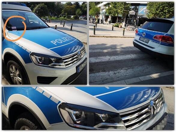 Ιωάννινα - Αστυνομικός έκοψε κλήση σε όχημα της Frontex (φωτο)