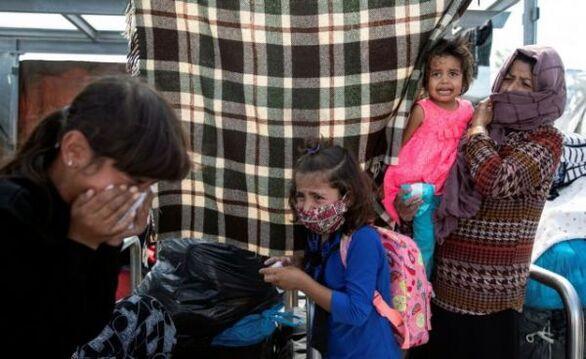 Άστεγοι για έκτη μέρα οι πρόσφυγες στη Λέσβο