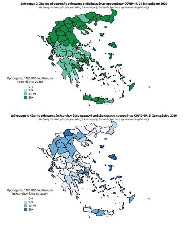 Κορωνοϊός - Ελλάδα: Εκρηκτική αύξηση με 453 νέα κρούσματα και 6 νεκρούς