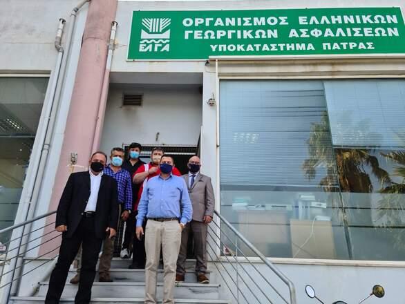 Δυτ. Ελλάδα: ΤρειςΑντιπεριφερειάρχες στον ΕΛΓΑ για τις ζημιές που υπέστησαν οι αγρότεςαπό τον «Ιανό»