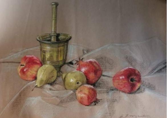 Πάτρα - Με επιτυχία πραγματοποιήθηκαν τα εγκαίνια της έκθεσης ζωγραφικής της Ευτυχίας Στυλιανέα (φωτο)