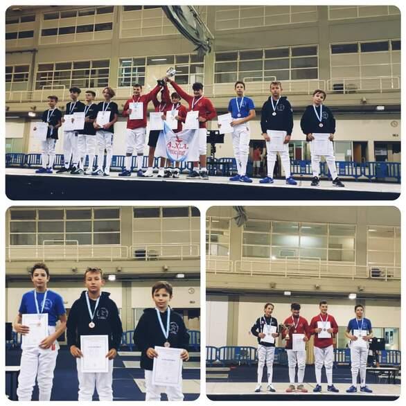 2 χάλκινα μετάλλια στο Πανελλήνιο Πρωτάθλημα ξιφασκίας ο Αχαϊκός
