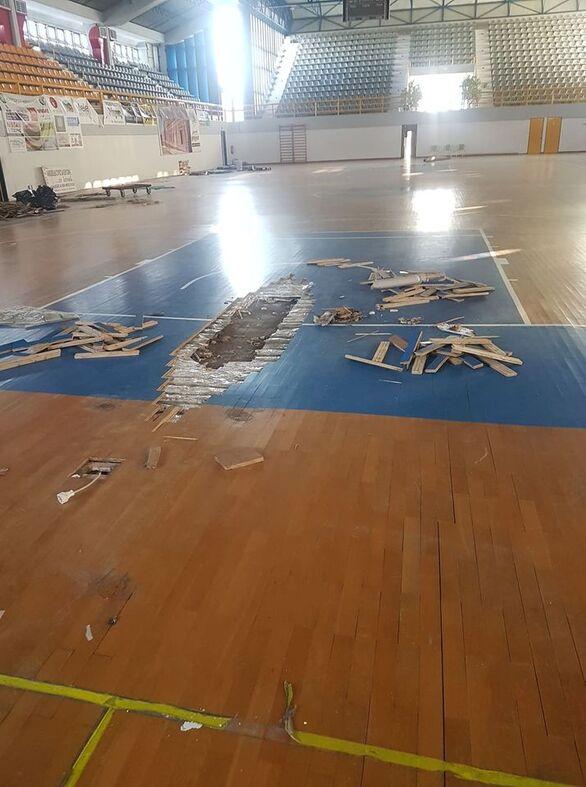 Το Κλειστό Γυμναστήριο στον Πύργο είναι πράγματι... κλειστό! - Δείτε φωτογραφίες