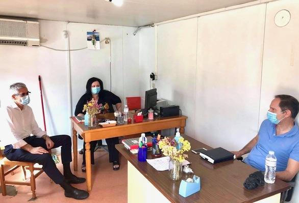 Επίσκεψη του Άγγελου Τσιγκρή στις υπηρεσίες της Δυτικής Αχαΐας (φωτο)