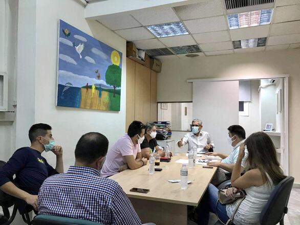 Συνάντηση του Άγγελου Τσιγκρή στην Πάτρα με την Περιφερειακή Ομοσπονδία ΑμΕΑ (φωτο)