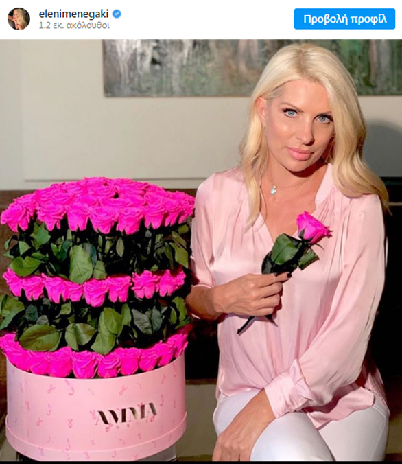 Η Ελένη Μενεγάκη θα φωταγωγήσει ροζ το Μέγαρο Μουσικής Αθηνών!