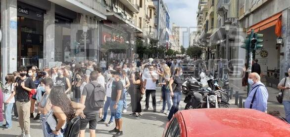 Η πορεία στην Πάτρα για τη δίκη της Χρυσής Αυγής - Δείτε φωτογραφίες