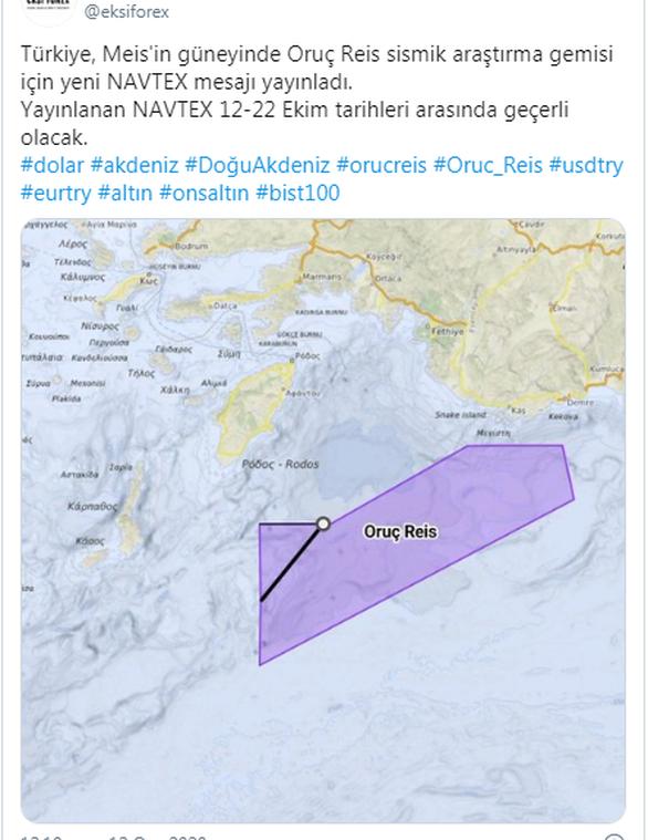 """ΥΠΕΞ για νέα τουρκική NAVTEX: """"Συνιστά μείζονα κλιμάκωση και ευθεία απειλή"""""""