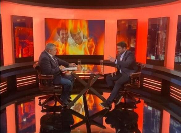 Ο Αλέξης Γεωργούλης και ο Γιάννης Ζουγανέλης στο «DIRECT» με τον Τάκη Χατζή