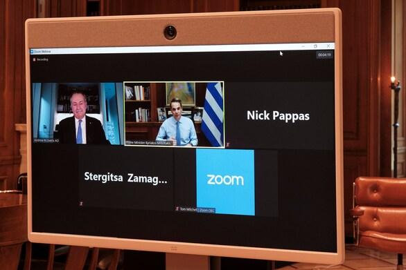 """Μητσοτάκης σε Έλληνες της Αυστραλίας: """"Στις εθνικές εκλογές θα ψηφίσετε πρώτοι"""""""