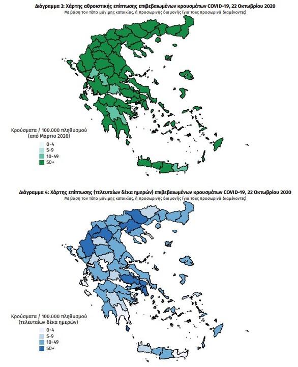 Κορωνοϊός - Ελλάδα: Νέα μεγάλη άνοδος με 882 κρούσματα και 15 θάνατοι