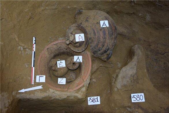 Αιγιάλεια - Σημαντικά ευρήματα στην μυκηναϊκή νεκρόπολη της Τράπεζας (φωτο)