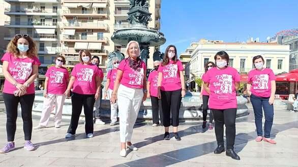 Πάτρα - Με επιτυχία οι δράσεις του Pink the city (φωτο)