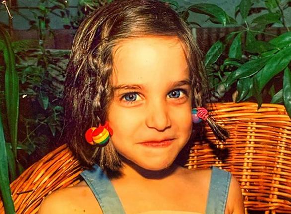 Η Κατερίνα Γερονικολού σε μικρή ηλικία